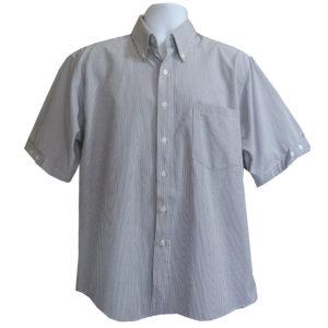 Camisa-Manga-Corta-500-Rayas-de-Hombre