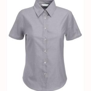 Camisa-Oxford-Manga-Corta-de-Dama-